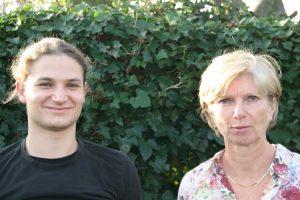 Miriam en Lukas
